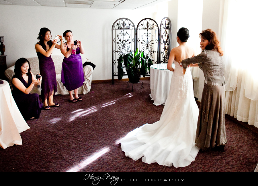 Redondo Beach Historic Library Wedding Photo